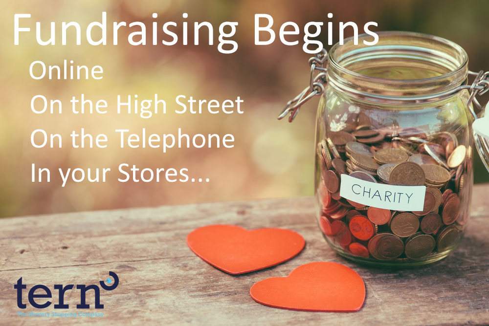 Fundraising Jar - Money collection Mystery Shopping
